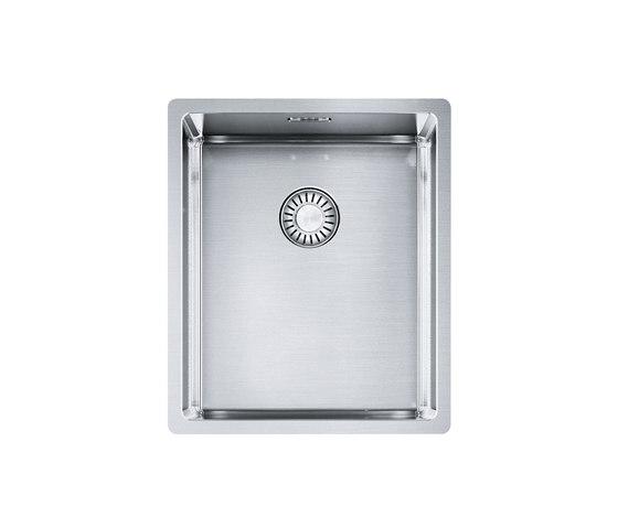 Franke Box Sink BXX 110-34 Stainless Steel by Franke Kitchen Systems | Kitchen sinks