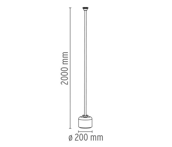 Mod. 1095 - 1 by Flos | Free-standing lights