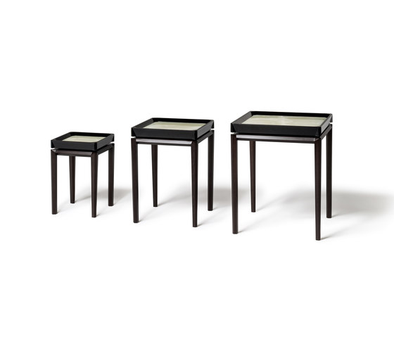 Sestiere Trio Nest Tables by Rubelli | Side tables