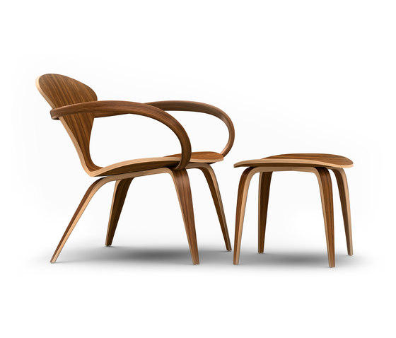 Cherner Lounge Chair and Ottoman by Cherner | Armchairs