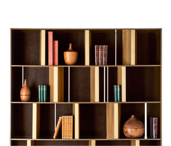 Stampàlia Bookcase High by Rubelli | Shelving