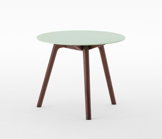 Nadia Side Table Round Lime Green by Meetee | Side tables