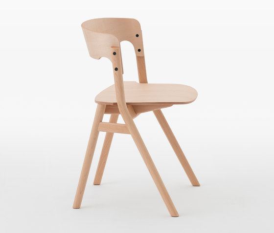 Sally Chair Natural von Meetee | Stühle