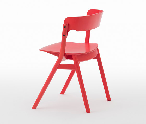 Sally Chair Red by Meetee | Restaurant chairs