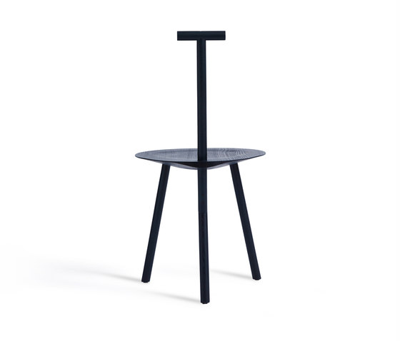 Spade Chair | Navy Blue by Please Wait to be Seated | Chairs