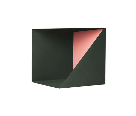 Wall Box | Cedar Green | Indian Red de Please Wait to be Seated | Estantería