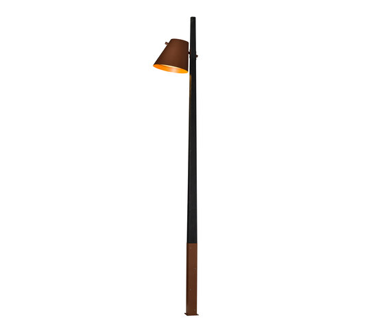 Čuovga Pole-top luminaire by Blond Belysning | Street lights