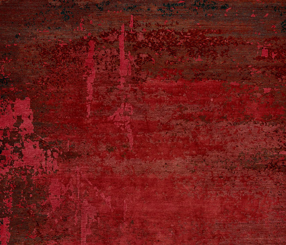 Texture - Shallow cerise by REUBER HENNING | Rugs