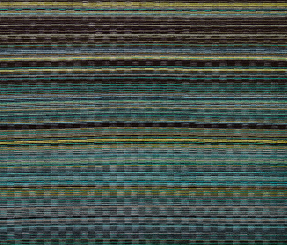 Stripes - Woodland Checker by REUBER HENNING | Rugs