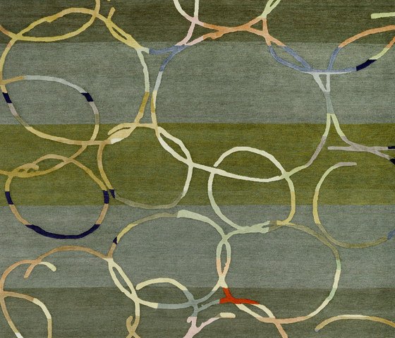 4-Minute Rug - Twinkle coloured by REUBER HENNING | Rugs