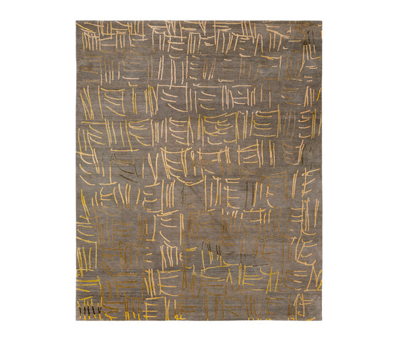 4-Minute Rug - Tally light grey by REUBER HENNING | Rugs