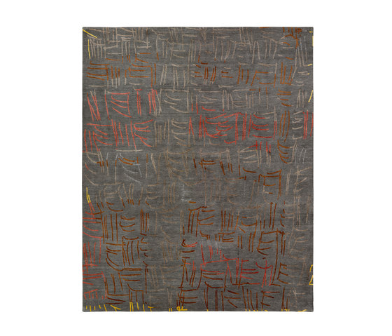 4-Minute Rug - Tally grey by REUBER HENNING | Rugs