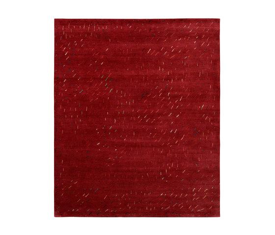4-Minute Rug - Twister red von REUBER HENNING   Formatteppiche