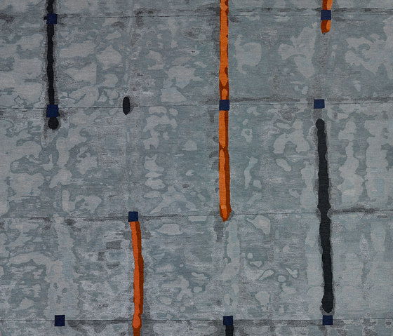 Shibori - Line sea by REUBER HENNING | Rugs