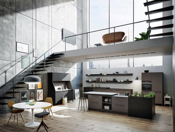 Urban | SE 8008 LM | SE 4004 E | 29 de SieMatic | Cocinas compactas