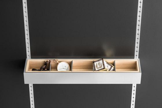 Interior |MultiMatic Aluminium de SieMatic | Étagères/Tablettes