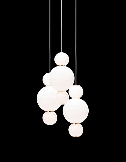 pearls chandalier 3 aaa general lighting from formagenda architonic. Black Bedroom Furniture Sets. Home Design Ideas