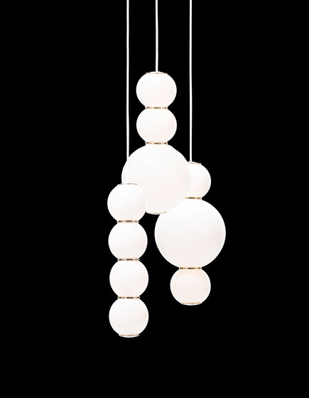 Pearls Chandalier 3 - ABD by Formagenda | Suspended lights
