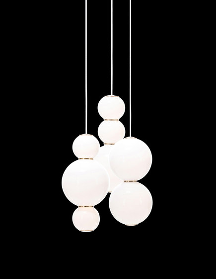 Pearls Chandalier 3 - ADE by Formagenda | Suspended lights