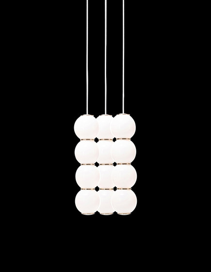Pearls Chandalier 3 - BBB by Formagenda | Suspended lights