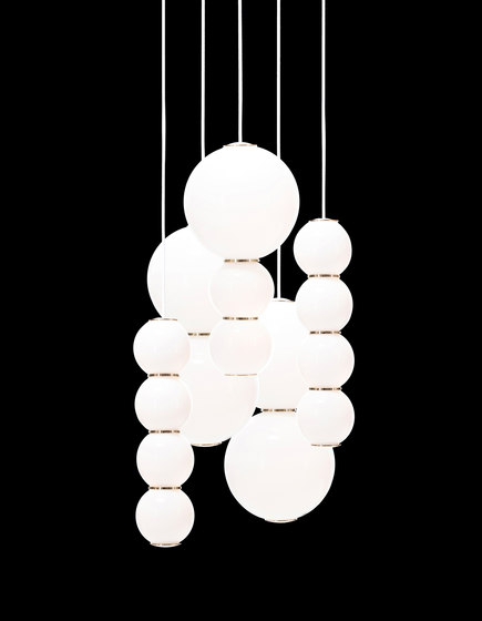 Pearls Chandalier 5 - BBCEE by Formagenda | Suspended lights