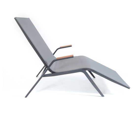 Atlantic relax sunbed by Fischer Möbel | Sun loungers