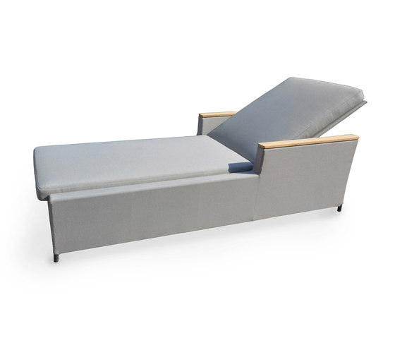 Rio sunbed by Fischer Möbel | Chaise longues