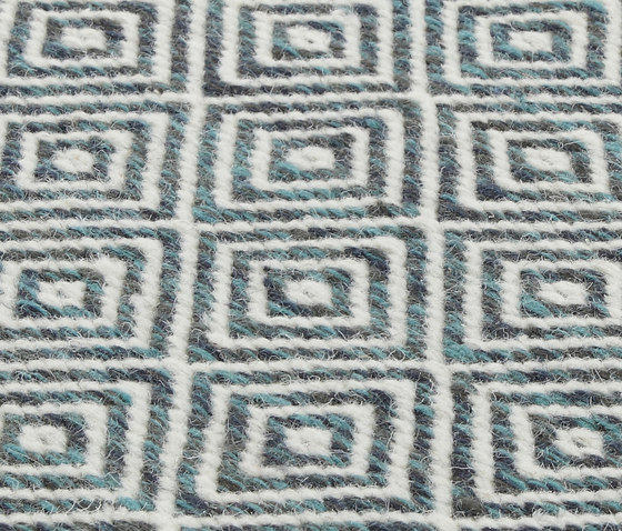 NeWave Vol. II multi teal by Miinu | Rugs / Designer rugs