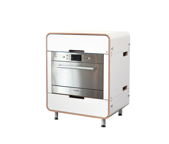 A la carte II electrical appliance module: dish washer by Stadtnomaden | Modular kitchens