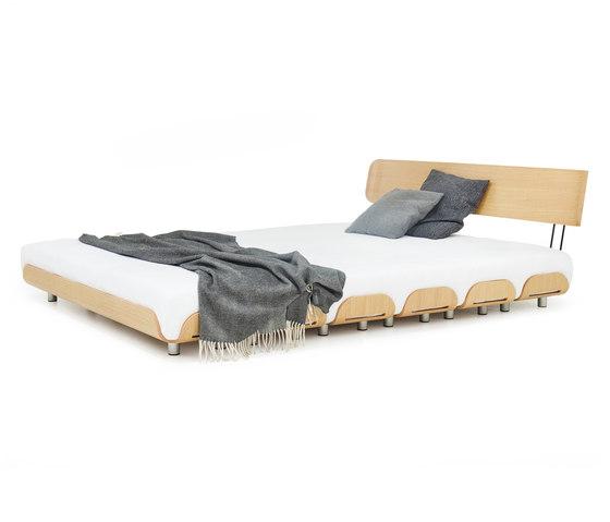 Tiefschlaf back rest 140 bed de Stadtnomaden | Somieres / Armazones de cama