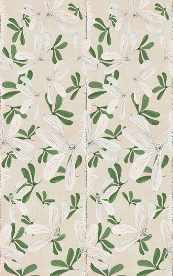 Fleur des Amériques by Wall&decò | Wall coverings / wallpapers
