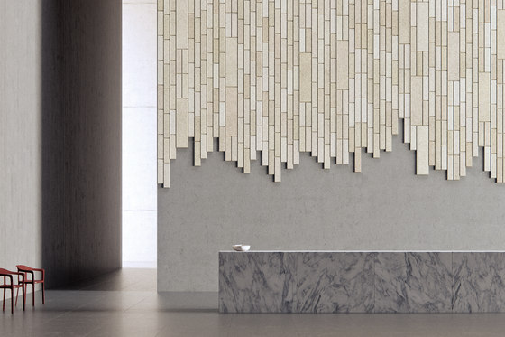 BAUX Acoustic Tiles Plank - Reception by BAUX | Wall panels