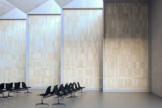 BAUX Acoustic Tiles Plank - Terminal by BAUX | Wood panels