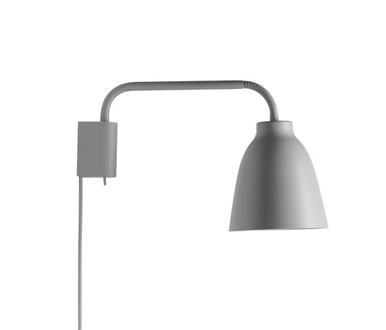 Caravaggio Read Wall Grey25 by Fritz Hansen | Wall lights
