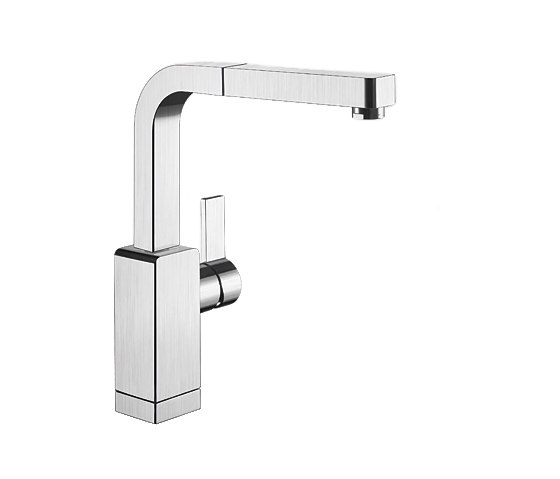 BLANCO LEVOS-S | Stainless Steel Satin Polished by Blanco | Kitchen taps
