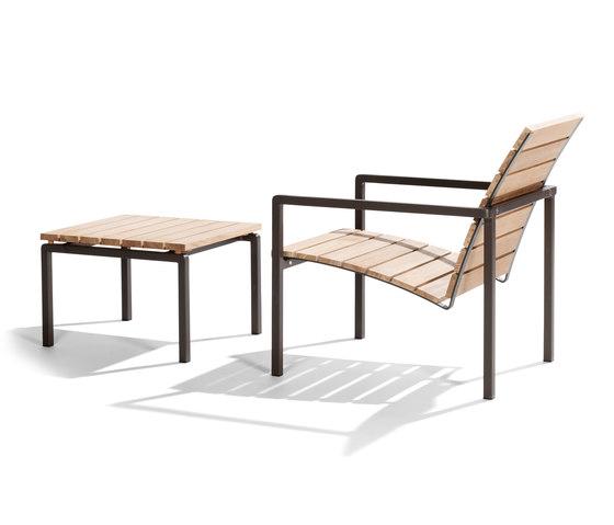 Natal Alu Teak Easy chair von Tribù | Sessel
