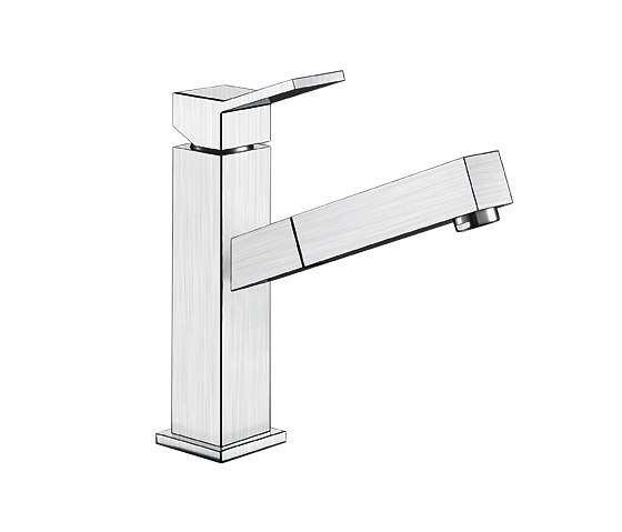 BLANCO QUADRIS-S | Brushed Stainless Steel by Blanco | Kitchen taps
