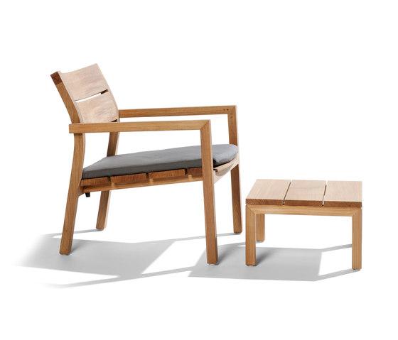 Kos Teak Easy chair von Tribù | Gartensessel