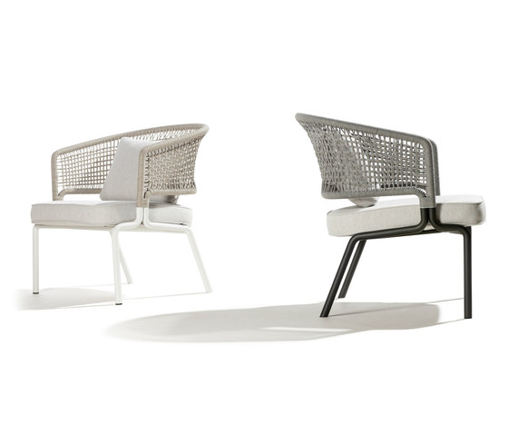 CTR Clubchair by Tribù | Garden armchairs