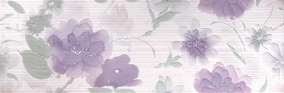 Kilim Glicine Fiore Inserto by ASCOT CERAMICHE | Ceramic tiles