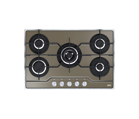Frames by Franke Hob FHFS 785 4G TC CH C Stainless Steel Glass Champagne by Franke Home Solutions | Hobs