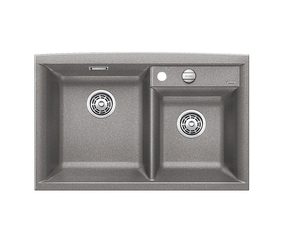 BLANCO AXIA II 8   SILGRANIT Alu Metallic by Blanco   Kitchen sinks