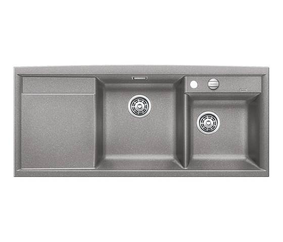BLANCO AXIA II 8 S | SILGRANIT Alu Metallic by Blanco | Kitchen sinks