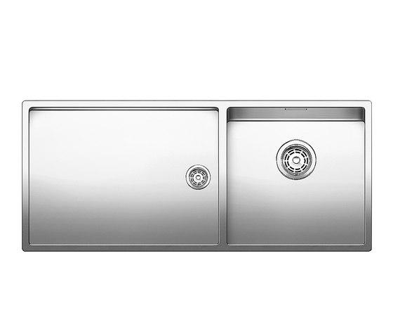BLANCO CLARON 400/550-T-IF by Blanco | Kitchen sinks