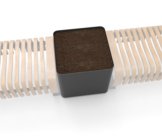 Radius Planter by Green Furniture Concept | Privacy screen
