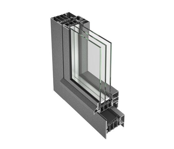 Janisol HI Fenêtre de Jansen | Systèmes de fenêtres