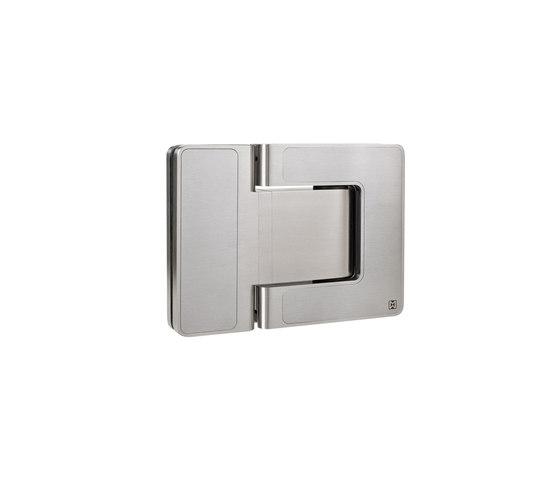 Agitus Door System/ Pivot Door Hinge by MWE Edelstahlmanufaktur | Hinges for glass doors