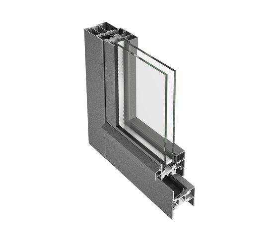 Janisol Primo by Jansen | Window types