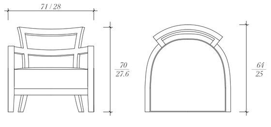 Louvre armchair von BALTUS   Sessel
