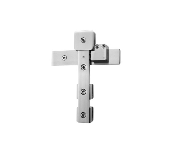 Akzent R Door System/ Roller Carriage by MWE Edelstahlmanufaktur | Sliding door fittings